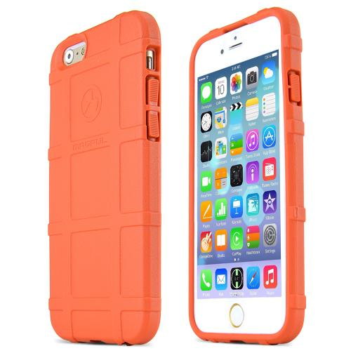 Apple iPhone 6/ 6S Case, Magpul [Orange] Field Case Slim & Protective Rubberized Matte Finish Snap-on Hard Polycarbonate Plastic Case Cover