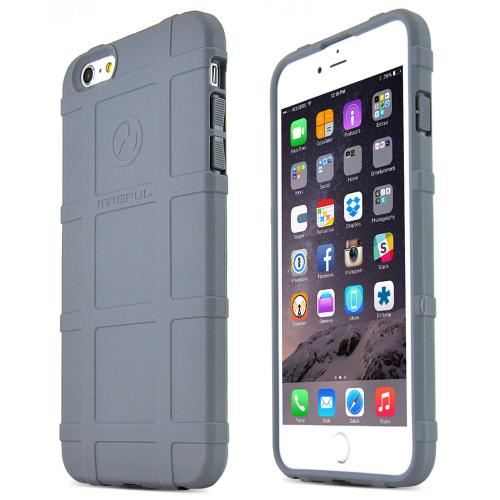 Apple iPhone 6 PLUS/6S PLUS (5.5 inch) TPU Case by Magpul [Gray] Field Case with Ultimate Impact Resistant Protection
