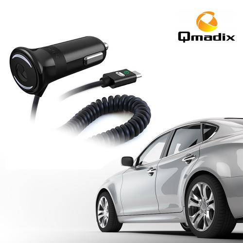 Qmadix [Qualcomm Quick Charge 2.0] Micro USB Vehicle Power Charger