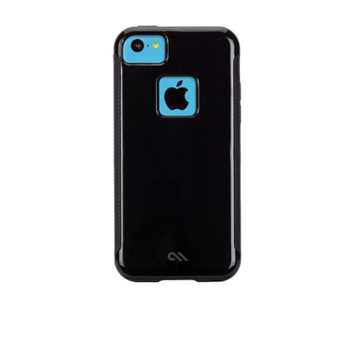Case-Mate Black Pop! Series Hybrid Hard Case for Apple iPhone 5C - CM029153