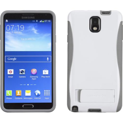 Case-Mate White/ Gray Pop! Series Hybrid Hard Case for Samsung Galaxy Note 3 - CM030278