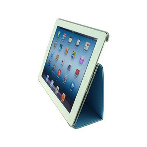 Odoyo Aircoat Folio Series Blue Hard Case Stand for Apple iPad 2/3/4