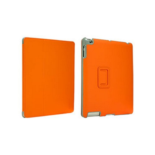 Odoyo Aircoat Folio Series Orange Hard Case Stand for Apple iPad 2/3/4