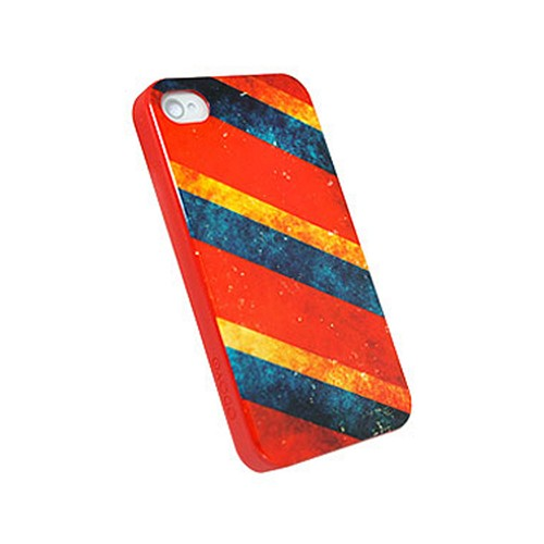 Odoyo Palette Series Circus Hard Case w/ Screen Protector for Apple iPhone 4/4S