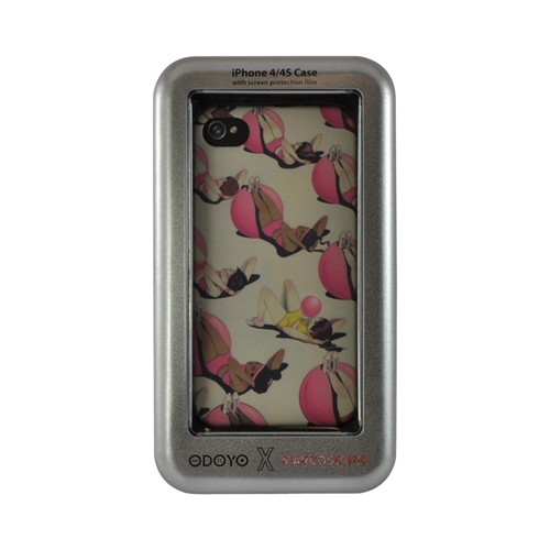 Odoyo X Marcos Chin Series Falling Off The Workout Wagon Hard Case for Apple iPhone 4/4S