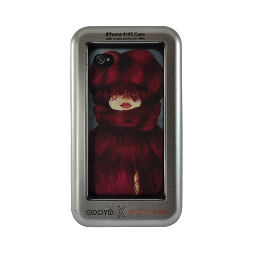 Odoyo X Marcos Chin Series Cold Hard Case for Apple iPhone 4/4S
