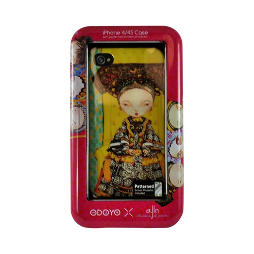 Odoyo X A.JIN Series Power Hard Case for Apple iPhone 4/4S