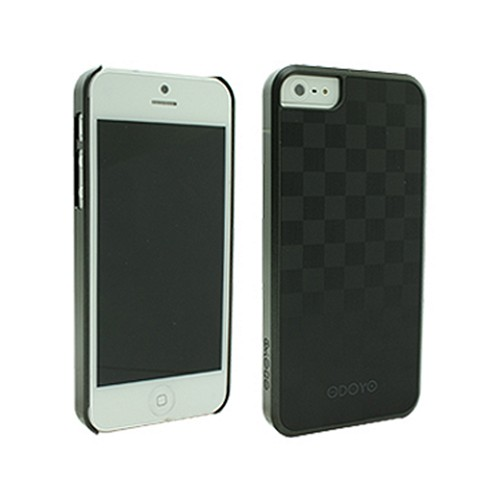 Odoyo Metal Smith Series Grand Checker Hard Case w/ Screen Protector for Apple iPhone 5/5S