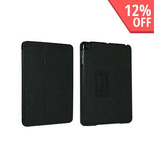 Odoyo Aircoat Folio Series Black Hard Case Stand for Apple iPad Mini