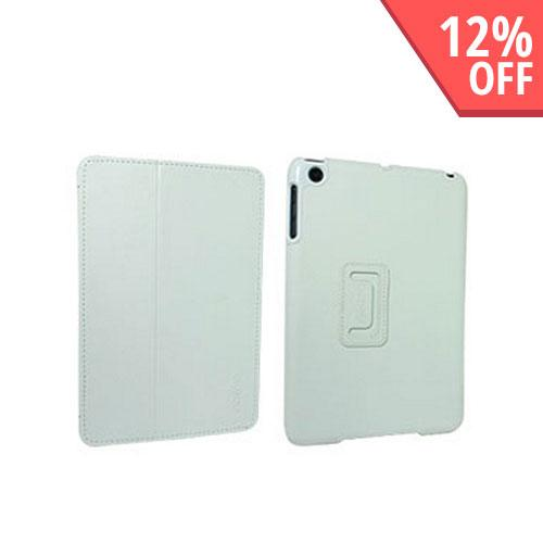 Odoyo Aircoat Folio Series White Hard Case Stand for Apple iPad Mini