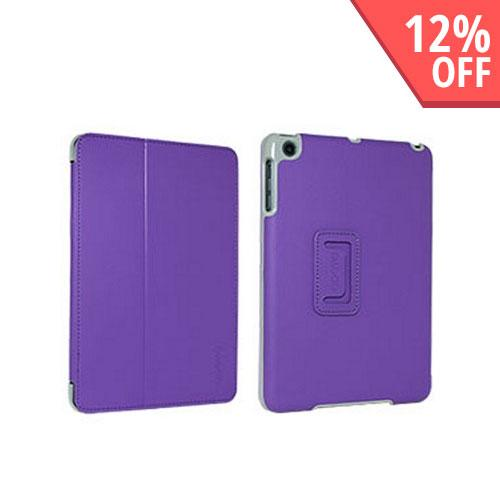 Odoyo Aircoat Folio Series Purple Hard Case Stand for Apple iPad Mini