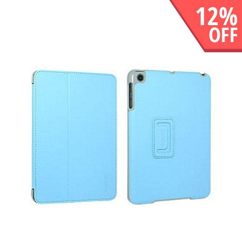Odoyo Aircoat Folio Series Blue Hard Case Stand for Apple iPad Mini
