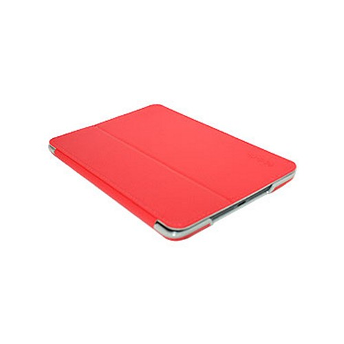 Odoyo Aircoat Folio Series Red Hard Case Stand for Apple iPad Mini