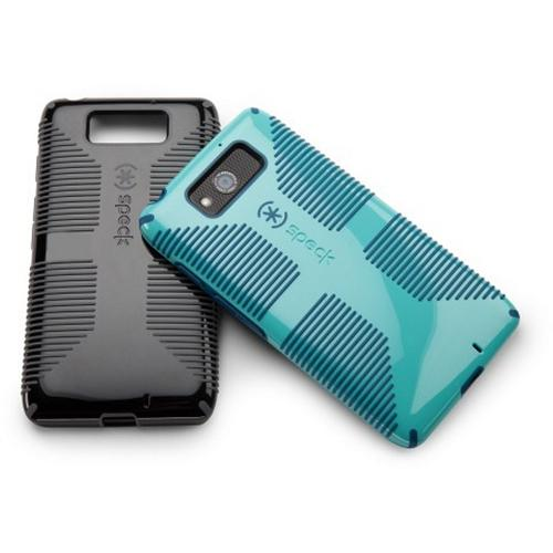 Speck Pool Blue/Deep Sea Blue CandyShell Grip Series Hybrid Hard Case for Motorola Droid Ultra - SPK-A2150