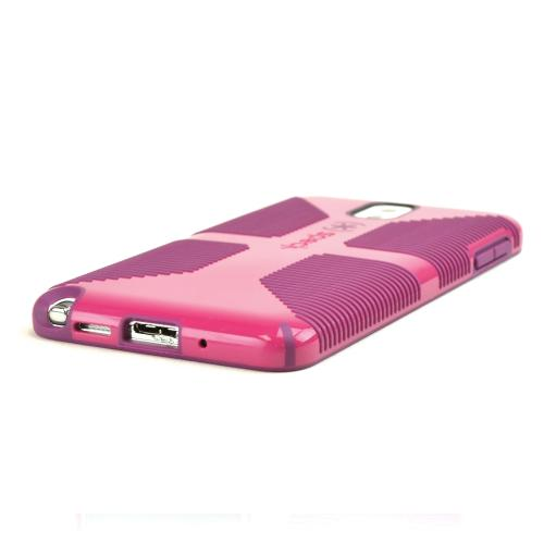 Speck Fuchsia/ Purple CandyShell Grip Series Hybrid Hard Case for Samsung Galaxy Note 3 - SPK-A2480