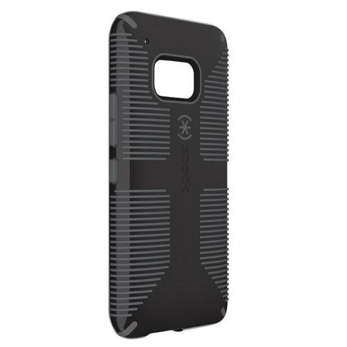 Speck Candyshell Grip HTC One M9 Case | [Black / Gray] Candyshell Grip Series Hard Polycarbonate Cover on Silicone Skin Dual Layer Fishbone Grip Hybrid Case | Classic Stylish Protection for Anyone!