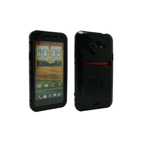 OEM Trident Cyclops HTC EVO 4G LTE Hard Case w/ Built-In Screen Protector - Black