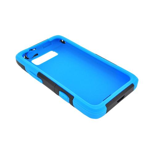 OEM Trident Aegis LG Viper 4G LTE/ Connect 4G Hard Cover Over Silicone Case w/ Screen Protector - Blue/ Black