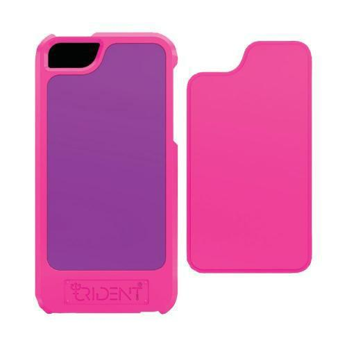 Trident Pink/ Purple Apollo Series Hard Case w/ Interchangeable Plates & Screen Protector for Apple iPhone 5/5S - AP-IPH5-PNK