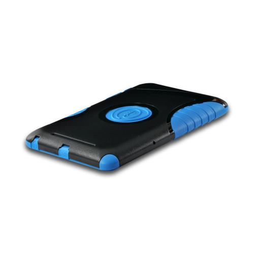 Trident Blue/ Black Aegis Series Hard Case on Silicone w/ Screen Protector for Google Nexus 7