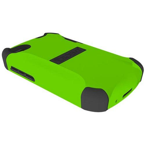 Trident Lime Green/ Black Aegis Series Hard Case on Silicone Skin w/ Screen Protector for Blackberry Q10