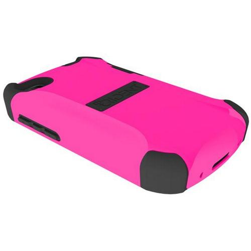 Trident Hot Pink/ Black Aegis Series Hard Case on Silicone Skin w/ Screen Protector for Blackberry Q10