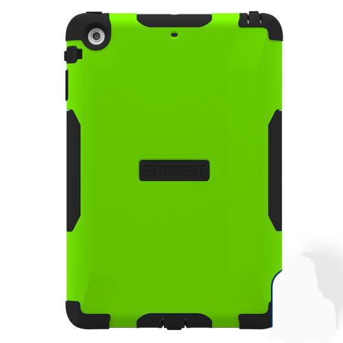 Trident Aegis iPad Mini 2 Case | [Lime Green] Aegis Series Slim & Rugged Hard Cover over Silicone Skin Dual Layer Hybrid Case w/ Screen Protector for Apple iPad Mini 2 | Great Alternative to Otterbox!