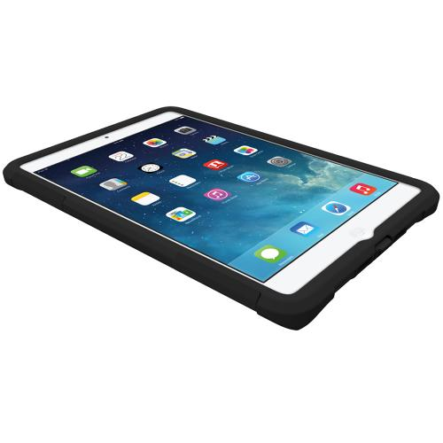 iPad Mini 2 Dual Layer Case by Trident [Black] Aegis Series Featuring Hardened Polycarbonate Over Silicone Skin Hybrid Case W/ Screen Protector