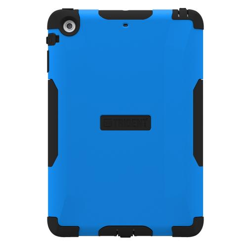 iPad Mini 2 Dual Layer Case by Trident [Blue] Aegis Series Featuring Hardened Polycarbonate Over Silicone Skin Hybrid Case W/ Screen Protector
