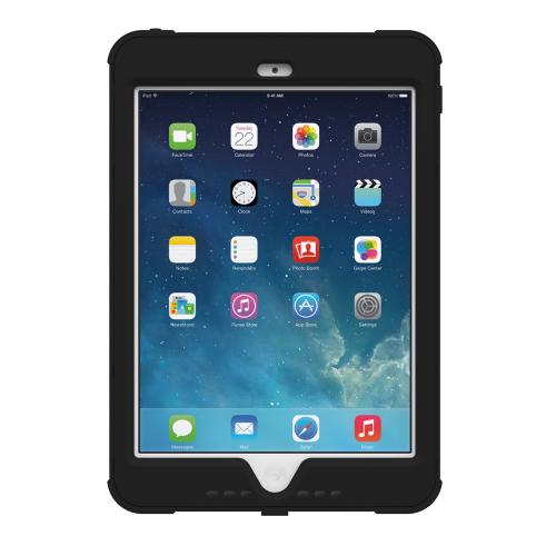 iPad Mini 2 Dual Layer Case by Trident | [Black] Kraken AMS Series Featuring Hard Polycarbonate On Silicone Hybrid Case w/ Built-in Screen Protector