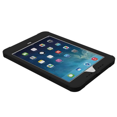 Trident Kraken AMS iPad Mini 2 Case | [Black] Kraken AMS Series Rugged Protective Hard Polycarbonate on Silicone Dual Layer Hybrid Case w/ Built-in Screen Protector for Apple iPad Mini 2 | Great Alternative to Otterbox!