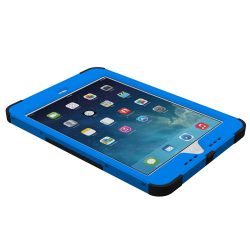 Trident Kraken AMS iPad Mini 2 Case | [Blue] Kraken AMS Series Rugged Protective Hard Polycarbonate on Silicone Dual Layer Hybrid Case w/ Built-in Screen Protector for Apple iPad Mini 2 | Great Alternative to Otterbox!