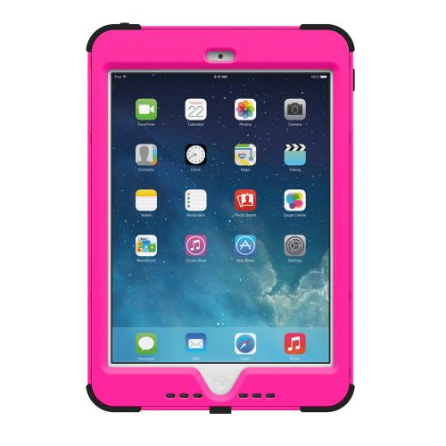 Trident Kraken AMS iPad Mini 2 Case | [Hot Pink] Kraken AMS Series Rugged Protective Hard Polycarbonate on Silicone Dual Layer Hybrid Case w/ Built-in Screen Protector for Apple iPad Mini 2 | Great Alternative to Otterbox!