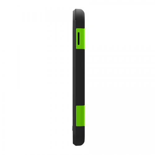 Lime Green/ Black Trident Aegis Series Hard Case on Silicone w/ Screen Protector for Samsung Galaxy Tab 3 10.1 - AG-SAM-TAB3-TG