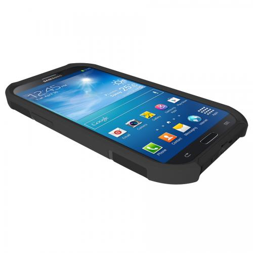 Trident Black Aegis Series Hard Cover on Silicone Skin Case w/ Screen Protector for Samsung Galaxy Mega 6.3 - AG-SAM-MEGA-BK