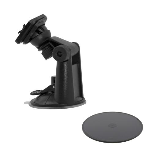 Trident Arkon Black Robust Suction Mount w/ Adhesive Mounting Disk for Kraken A.M.S. Phone & Tablet Cases - ARK-HD-SUC-PHNTB
