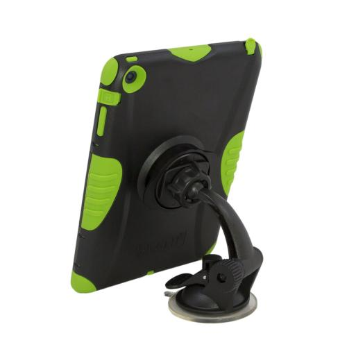 Trident Arkon Black Mini Robust Suction Mount w/ Adhesive Mounting Disk for Kraken A.M.S. Phone & Tablet Cases - ARK-HD-MINI-SUC-PHNTB