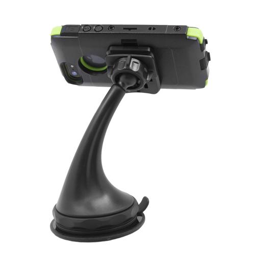 Trident Arkon Black Anti-Vibration Suction Mount w/ Adhesive Mounting Disk for Kraken A.M.S. Phone & Tablet Cases - ARK-VIB-SUC-PHNTB