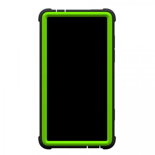 Trident Lime Green/ Black Cyclops Series Thermo Poly Elastomer (Super TOUGH) Hard Case w/ Built-In Screen Protector for HTC 8XT - CY-HTC-8XT-TG