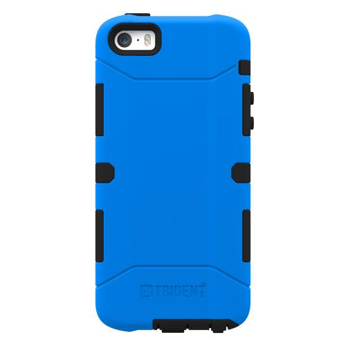 Apple iPhone SE / 5 / 5S  Case, Trident [Blue] AEGIS Series Featuring Hardened Polycarbonate Over Silicone Skin Hybrid Case W/ Screen Protector