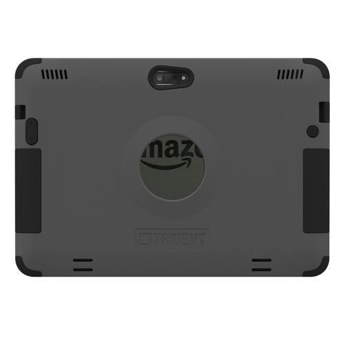 Kindle Fire Hdx 8.9 Dual Layer Case by Trident [Gray] Aegis Series Featuring Hardened Polycarbonate on Silicone Skin Hybrid Case W/ Screen Protector