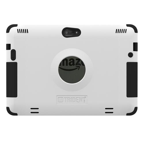 Kindle Fire Hdx 8.9 Dual Layer Case by Trident [White] Aegis Series Featuring Hardened Polycarbonate on Silicone Skin Hybrid Case W/ Screen Protector