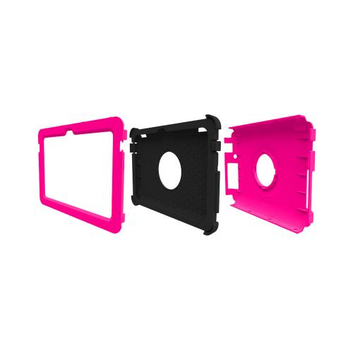 Kindle Fire HDX 7 Dual Layer Case by Trident | [Hot Pink] Kraken AMS Hard Polycarbonate On Silicone Hybrid Case W/ Built-in Screen Protector
