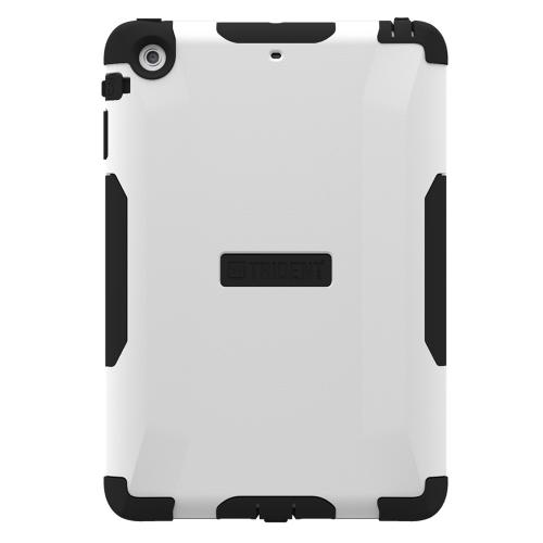 Trident Aegis iPad Mini 2 Case | [White] Aegis Series Slim & Rugged Hard Cover over Silicone Skin Dual Layer Hybrid Case w/ Screen Protector for Apple iPad Mini 2 | Great Alternative to Otterbox!