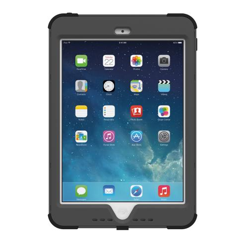iPad Mini 2 Case by Trident | [Dark Gray] Kraken AMS Series Rugged Hard Polycarbonate On Silicone Dual Layer Hybrid Case W/ Built-in Screen Protector