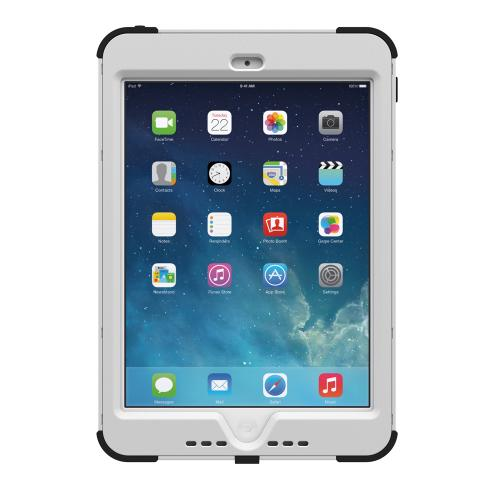Trident Kraken AMS iPad Mini 2 Case | [White] Kraken AMS Series Rugged Protective Hard Polycarbonate on Silicone Dual Layer Hybrid Case w/ Built-in Screen Protector for Apple iPad Mini 2 | Great Alternative to Otterbox!