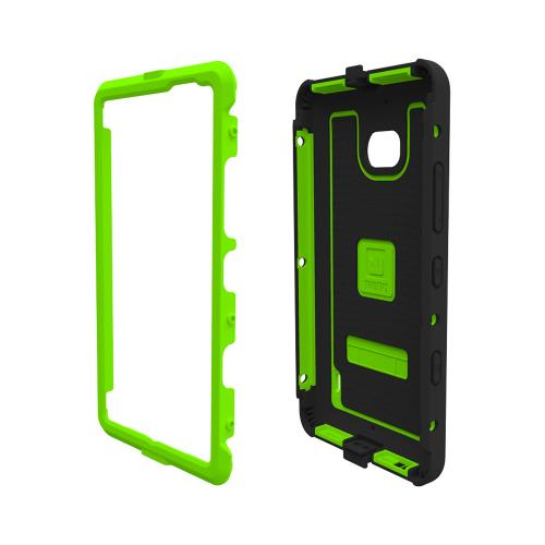 Trident Cyclops Lumia 929 Case | [Lime Green] Cyclops Series Rugged Fused Polycarbonate & Thermo Poly Elastomer (Super TOUGH!!) Dual Material Hybrid Case w/ Built-in Screen Protector for Nokia Lumia 929 | Great Alternative to Otterbox!
