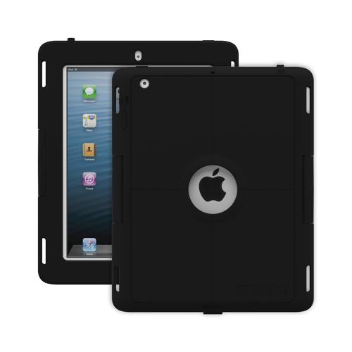 Trident Kraken AMS Industrial iPad 2 Case | [Black] Kraken AMS Industrial Series Rugged Protective Polycarbonate on Silicone Dual Layer Hybrid Case w/ Built-in Screen Protector for Apple iPad 2 | Great Alternative to Otterbox!