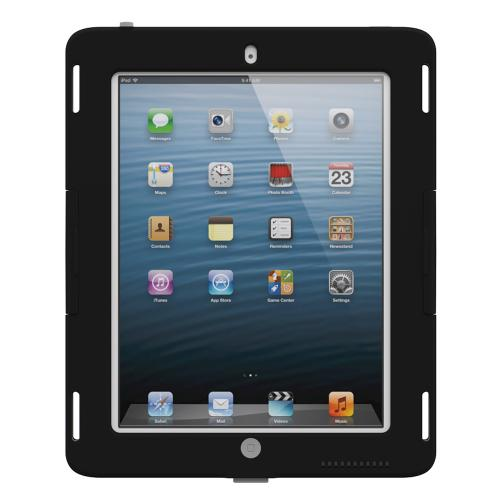 Trident Kraken AMS Industrial iPad 2 Case | [Black / Gray] Kraken AMS Industrial Series Rugged Protective Polycarbonate on Silicone Dual Layer Hybrid Case w/ Built-in Screen Protector for Apple iPad 2 | Great Alternative to Otterbox!