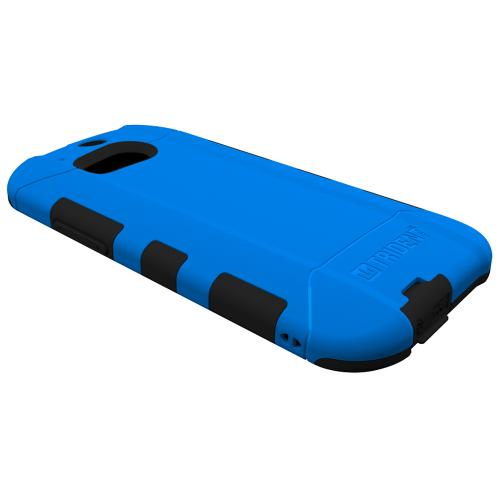 Trident Aegis One (M8) Case | [Blue] Aegis Series Slim & Rugged Hard Cover over Silicone Skin Dual Layer Hybrid Case w/ Screen Protector for HTC One (M8) | Great Alternative to Otterbox!